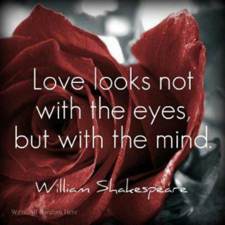 William Shakespeare Quote On Love