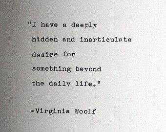 Virginia Woolf Quotes The Waves