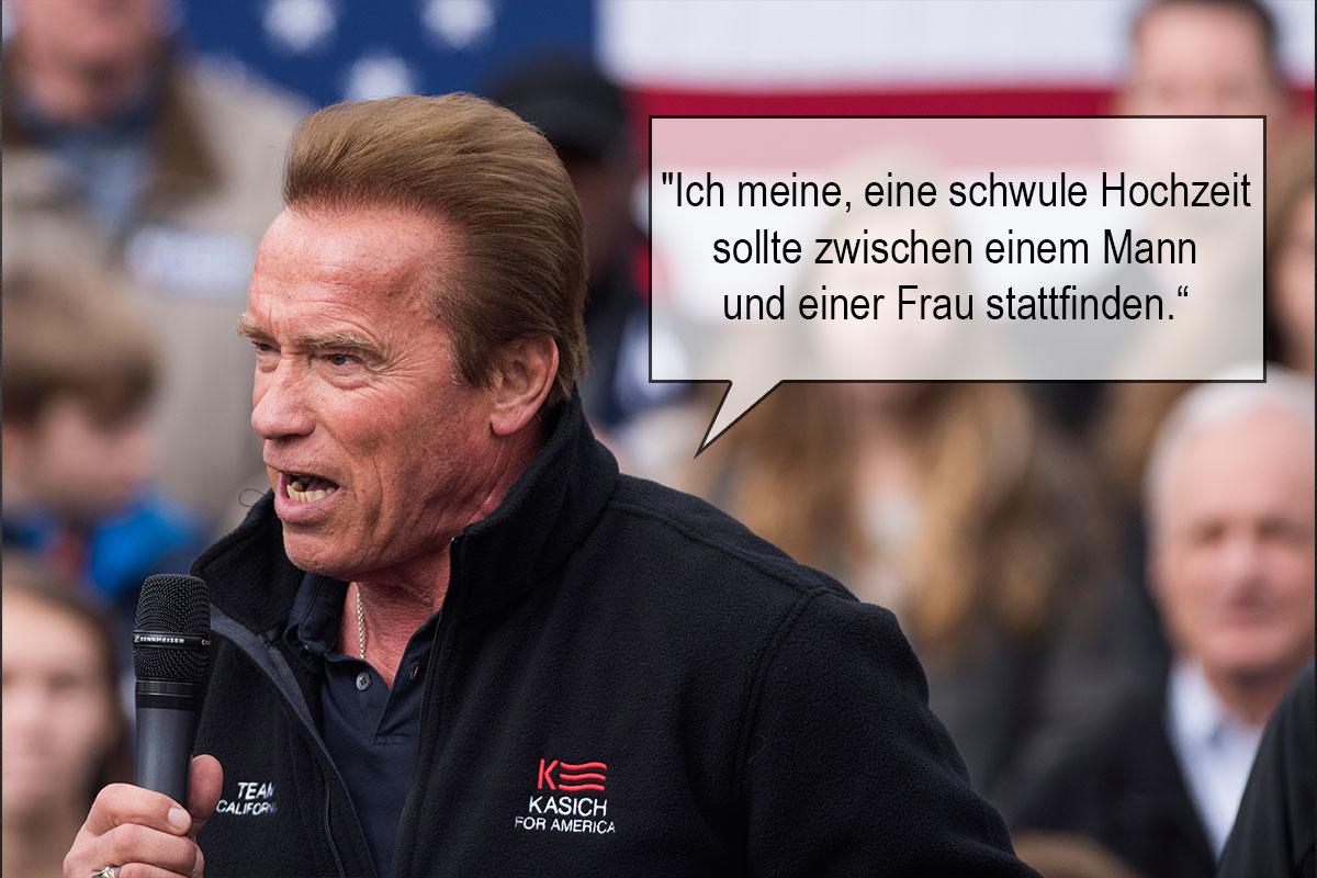 Cool Peinlich Lustig Verbalen Highlights Unserer Promis Zitat Arnold Schwarzenegger