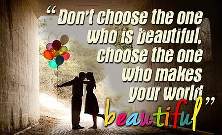 Beautiful World Beautiful Love Quotes