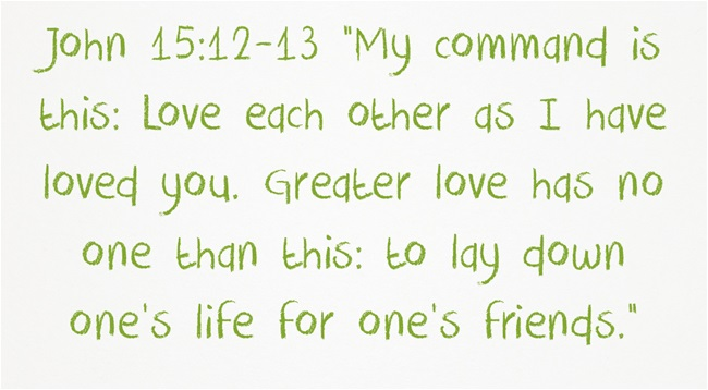 Loving Others Scriptures