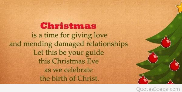 Christmas Is A Time For Giving Love