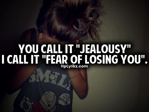 Love Jealousy Quotes Magnificent Cute Jealousy Quotes Tumblr Quotesta