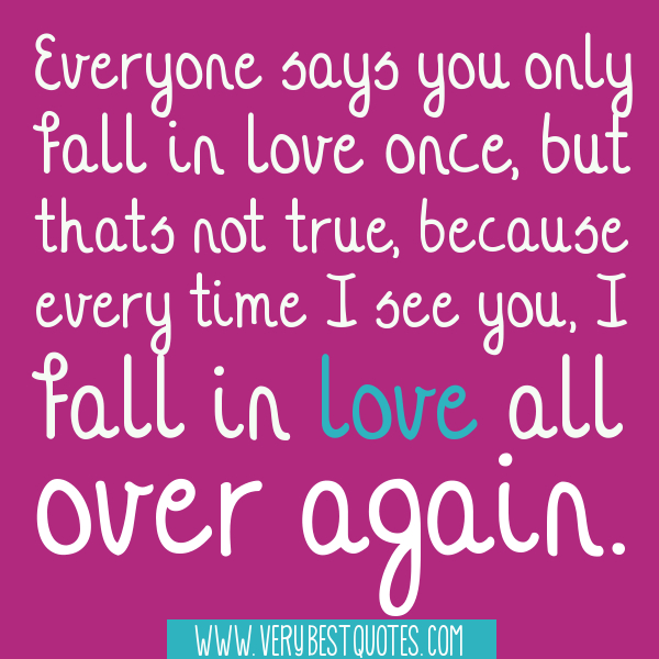 Cute Love Quotes And Sayings For Him And For Her Falling In Love All