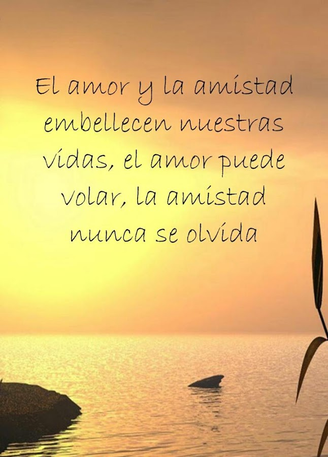 Quotes About Friendship In Spanish Magnificent Friendship Quotes In Spanish Android Apps On Google Play