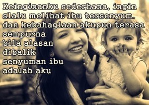 Dp Bbm Kata Kata Bijak Kasih Sayang Ibu Kepada Anaknya