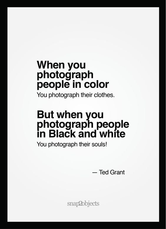 Luv Israni On Twitter Ted Grant Has Some Major Differentiation With A Colored And A Black And White Snap Always Love Sharing Such Quotes By The