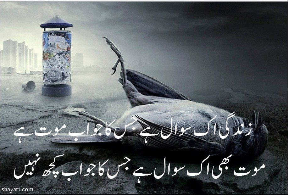 Death Urdu Poetry