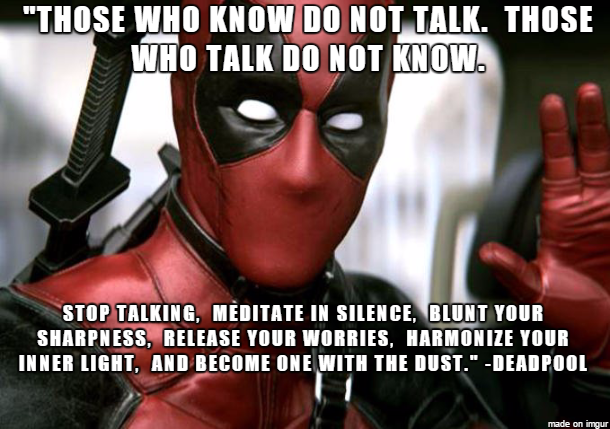 First Quotes From Deadpool Movie