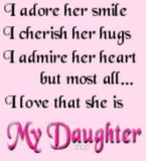 I Love My Daughter Quotes Tumblr