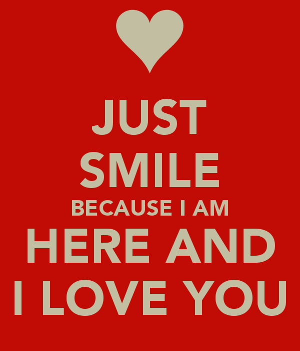 I Love You Quotes Love Messages I Love You Just Smile