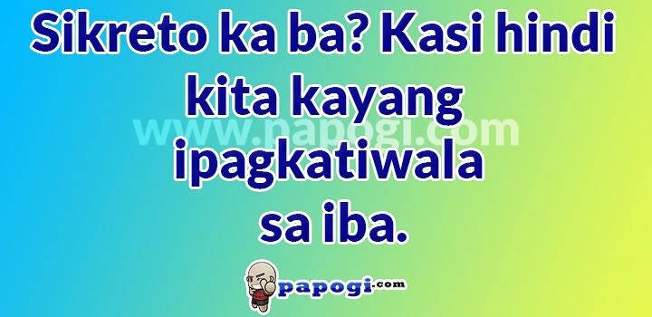 Tagalog Sweet Pickup Lines