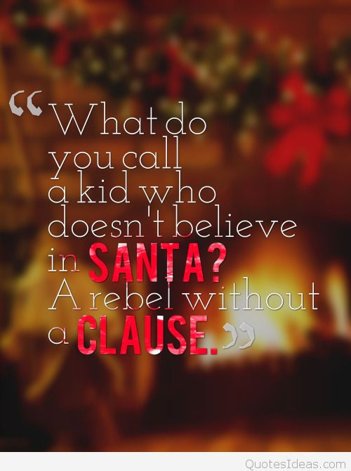 Inspirational Christmas Eve Time Quote Idea