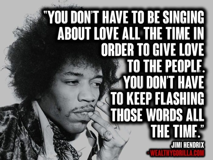 Th Of  Jimi Hendrix Quotes