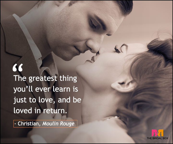Love Quotes From Movies Moulin Rouge