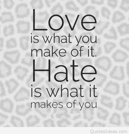 Love Vs Winter  Quote