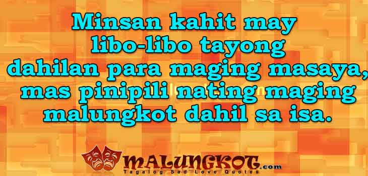 Tagalog Letting Go Quotes