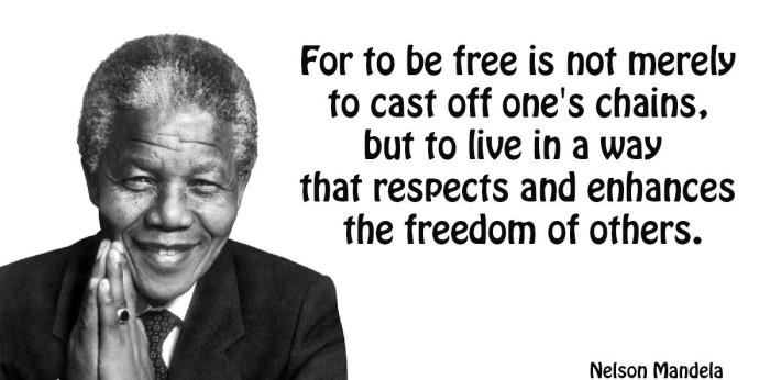 Motivating Nelson Mandela Quotes