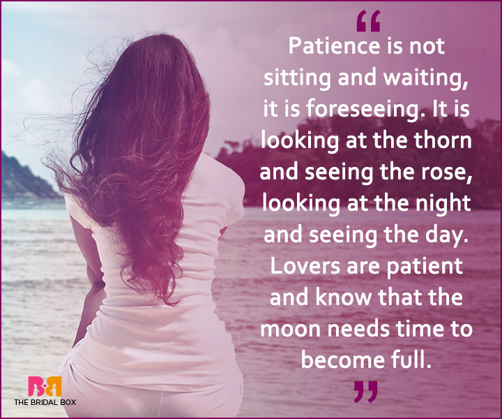 Quotes On Patience In Love Patience