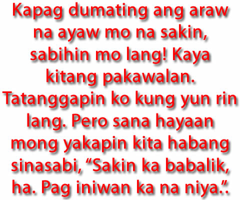Funny Love Tagalog Quotes