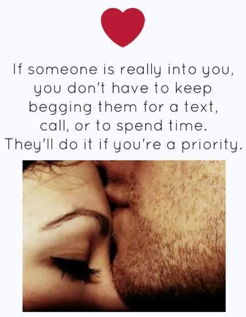Quotes Of Love Never Ask When Youre Priority Theyll Do