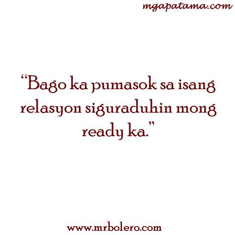 Relasyon Tagalog Quotes