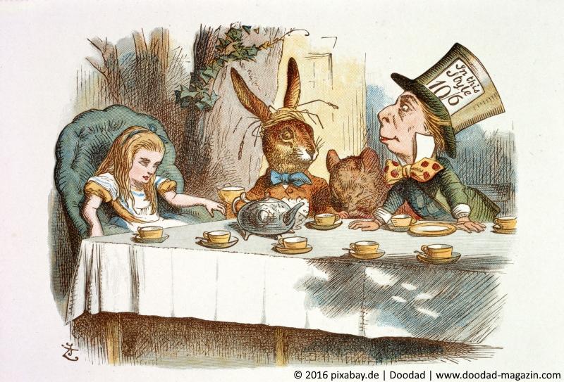 Hier Sind Alle Verruckt Were All Mad Here Ist Heutzutage Wohl Eines Der Bekanntesten Zitate Aus Dem Weltberuhmten Kinderbuch Alice Im Wunderland