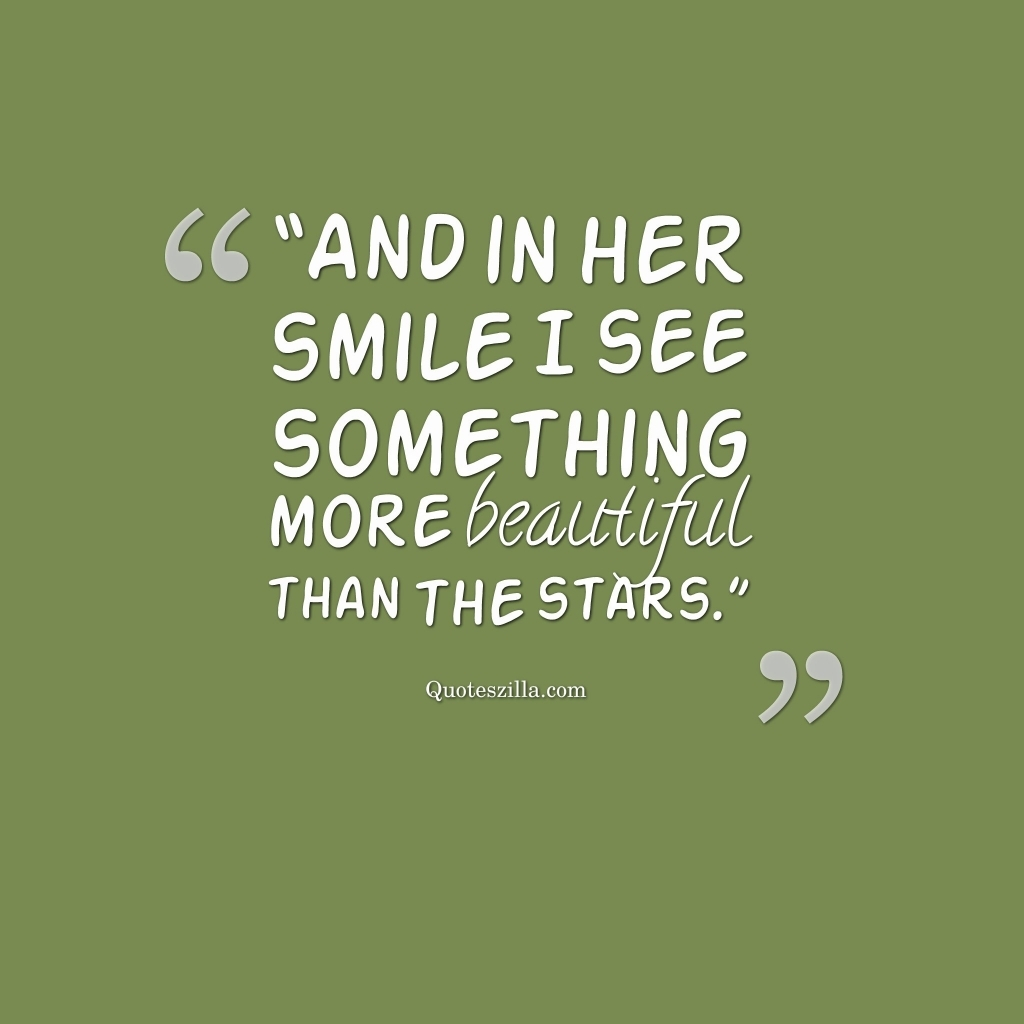 Falling In Love With Your Smile Quote Smile Quotes For Her Image Quotes At Hippoquotes