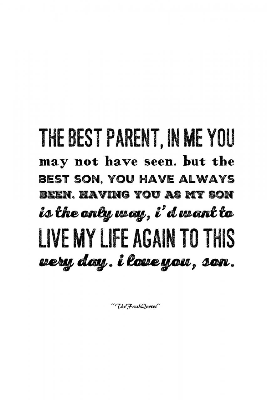 Son Quotes Images
