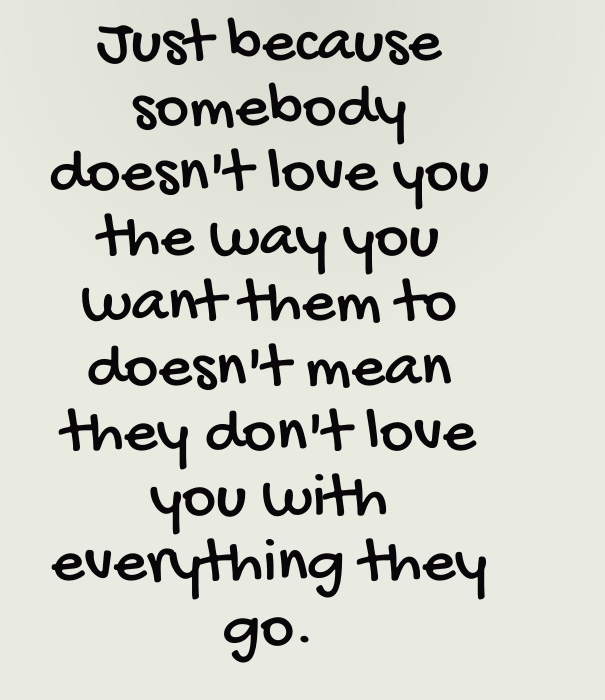 Why Never Give Uo On Love Quotes
