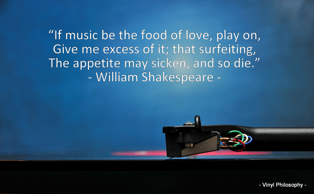 William Shakespeare Twelfth Night Music Quote