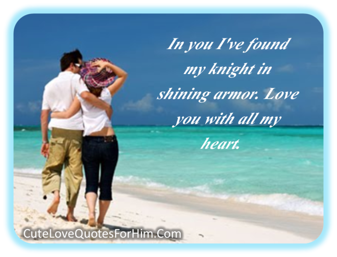Most Beautigul And Nice Love Cards With Cute Love Quotes For Him