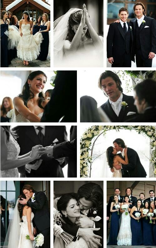 I Love How Jared Looks Like He Is The Luckiest Guy In The World And Promi Hochzeitenpromi Parchenzitate Supernaturalcastielwinterhochzeitehefrau