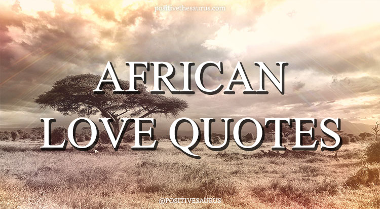 African Love Quotes