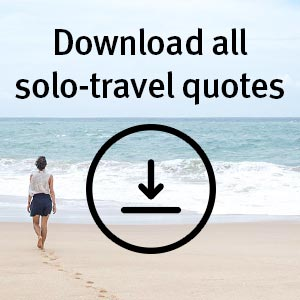 Download All Solo Travel Quotes Pdf