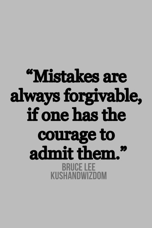 Grose Fehler Verlangen Nach Grosen Gesten