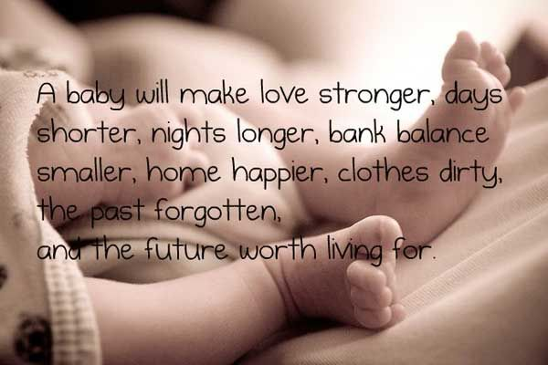 Baby Image Quotes For