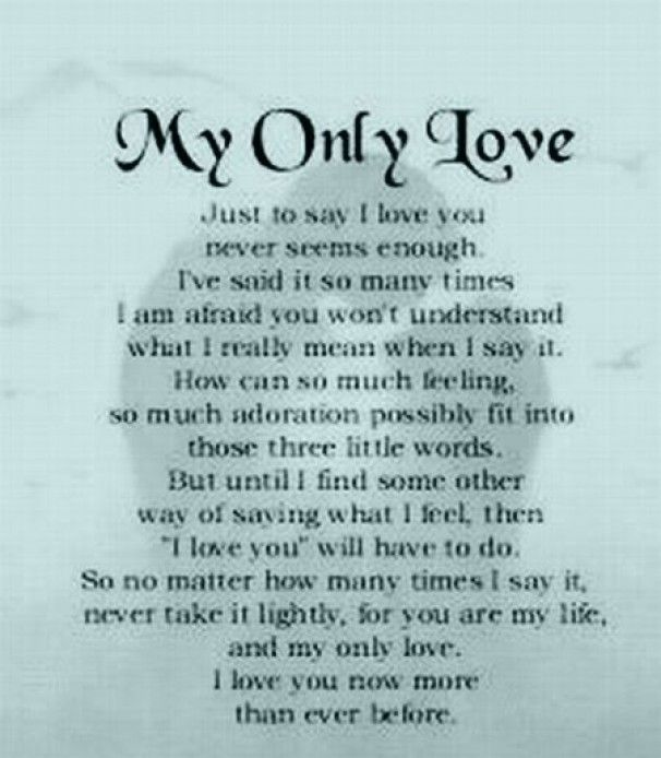 Beautiful Poems On Life  Some Beautiful Poems About Love Lovenstyle Com