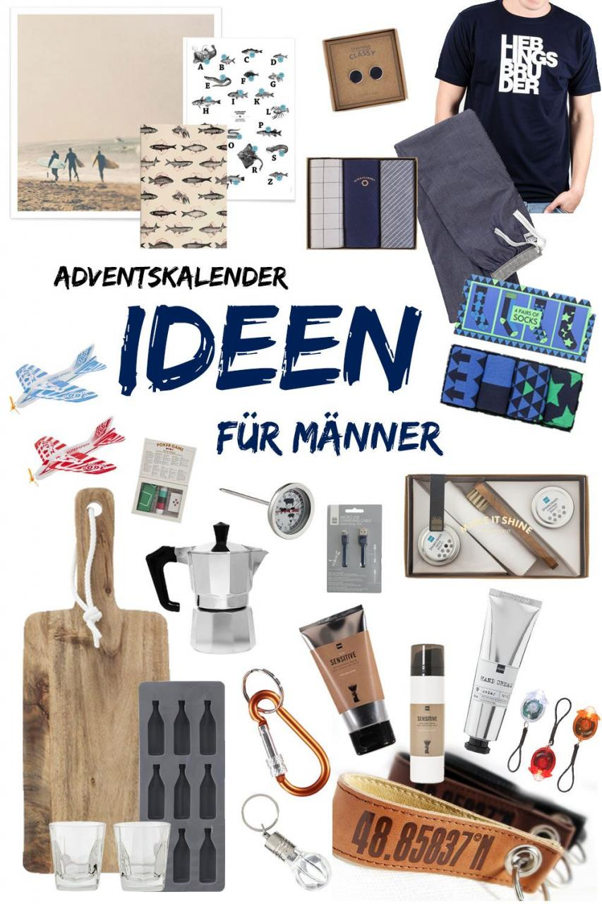 Adventskalender Ideen Fur Manner  Kleine Geschenke Xmas Gift And Advent Calendars