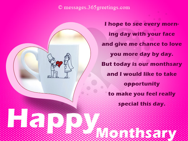 Beautiful Monthsary Messages For Girlfriend