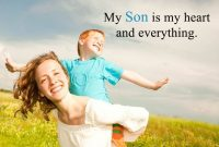 Beautiful Mother To Son Quotes About Sweet Relationship With Him