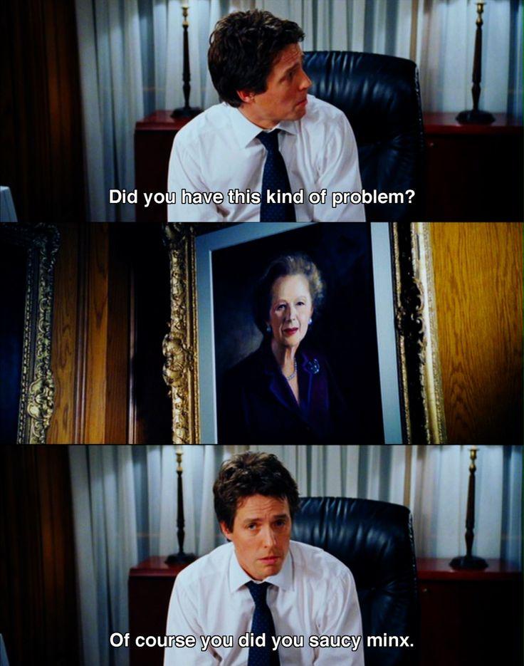 Love Hugh Grant Love Actually  Funny Movie Quotes