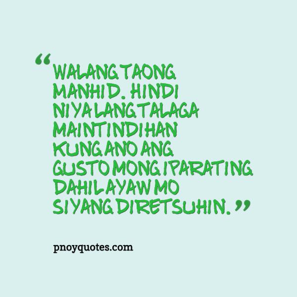 Bob Ong Love Quotes Tagalog Twitter
