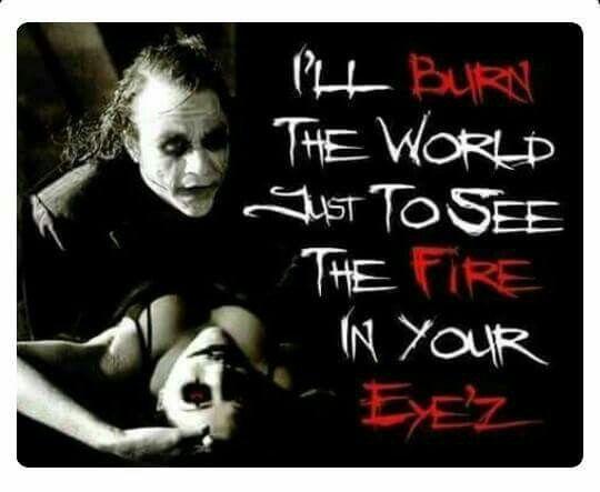 The Joker Loves Harley Quinn