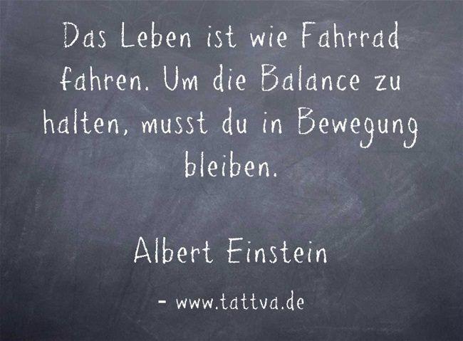 Image Result For Albert Einstein Zitate Leben Ist Wie Fahrradfahren