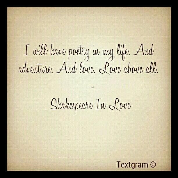 Shakespeare In Love Quotes By K C