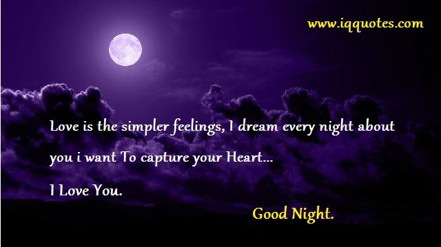 Love Quotes About Night