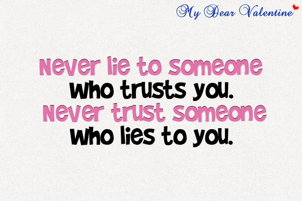 Quotes About Trust And Lies Best Quotes For Life  C B Quotes About Lyingquotes