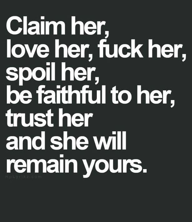 Claim Her Love Her
