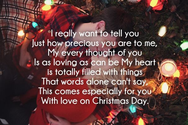 Christmas Love Poems For Him